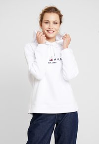 Tommy Hilfiger - HOODIE - Mikina skapucí - classic white - 0