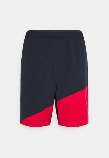 BLOCKED TRAINING SHORT - Pantaloncini sportivi - blue