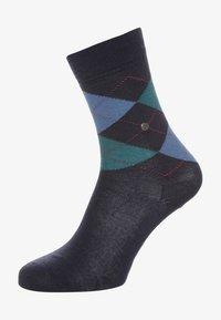 Burlington - MARYLEBONE - Socks - dark blue - 0