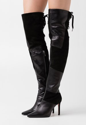 SOLE - High heeled boots - nero
