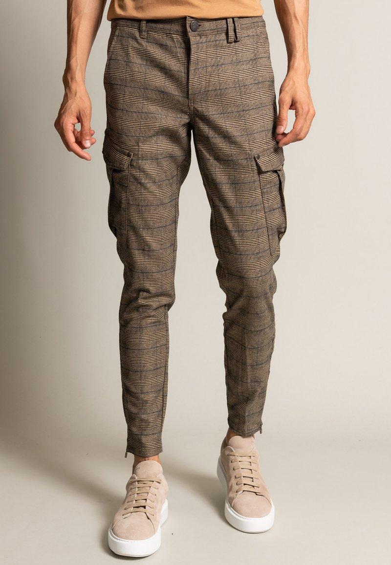 Gabba - PISA IVY  - Cargo trousers - brown