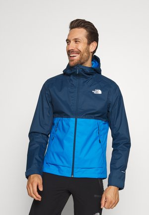 MENS MILLERTON JACKET - Hardshelljacka - clear lake blue/blue wing teal