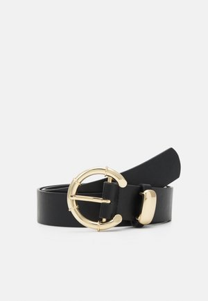 PCANGILA BELT - Belt - black/gold-coloured