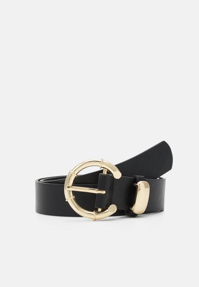 PCANGILA BELT - Pasek - black/gold-coloured