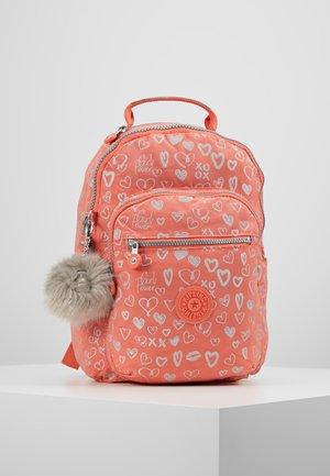 SEOUL GO  - School bag - hearty pink mett