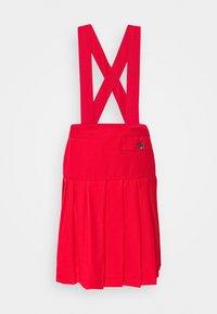 PLEATED SCHOOL SKIRT - Pleated skirt - red