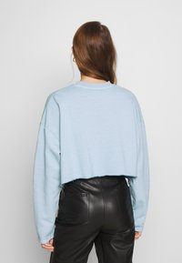 Topshop - PARIS RAW HEM - Sweatshirt - stone - 2