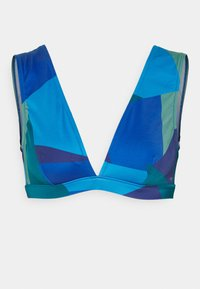 Sloggi - WOMEN SHORE KIRITIMATI - Bikini top - blue/dark combination - 0