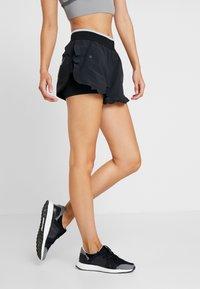 adidas by Stella McCartney - HIGH INTENSITY SPORT CLIMALITE SHORTS - Sports shorts - black - 0