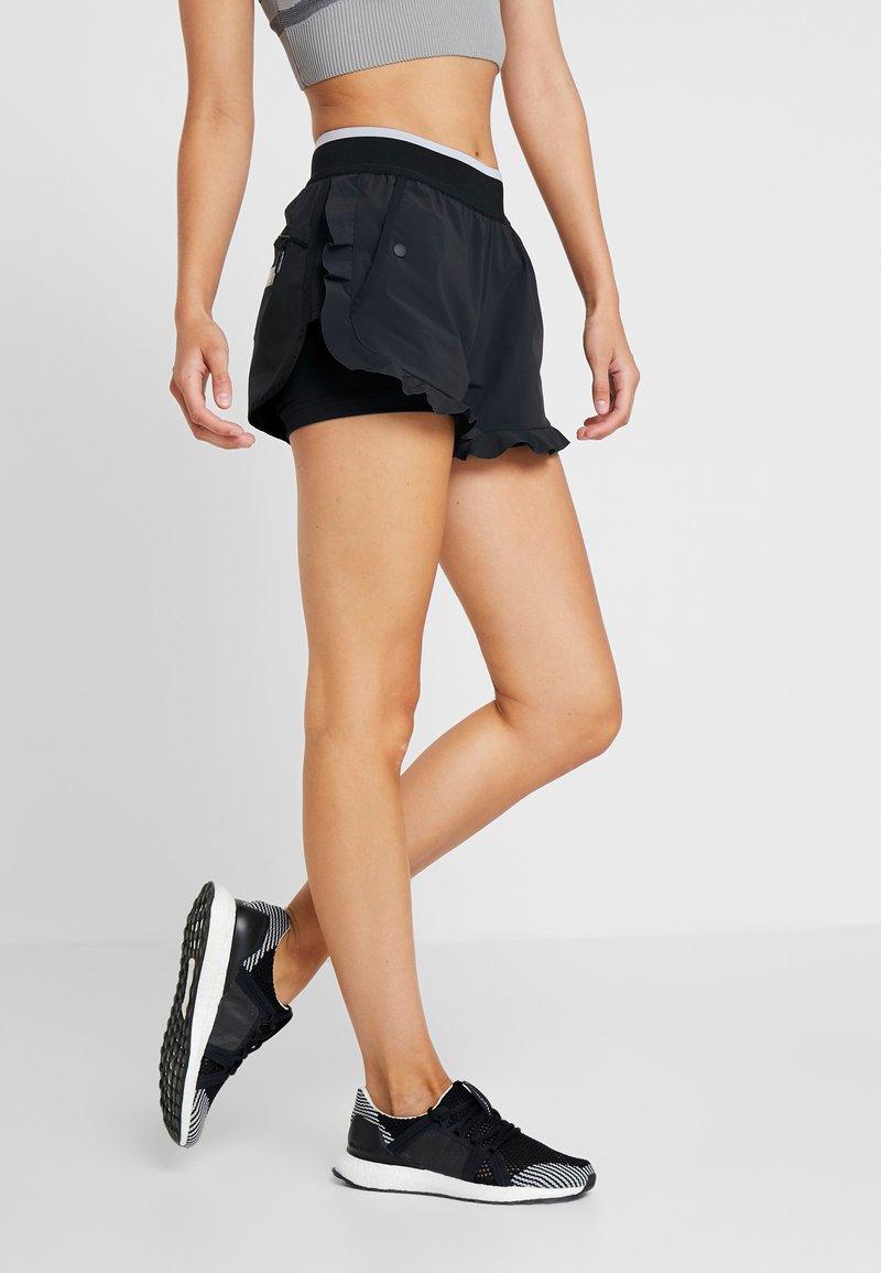 adidas by Stella McCartney - HIGH INTENSITY SPORT CLIMALITE SHORTS - Sports shorts - black