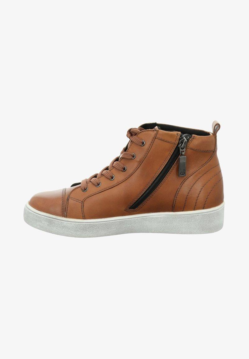 Gerry Weber - Sneakers hoog - cognac