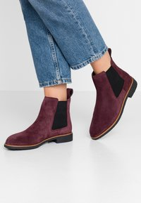 Clarks - GRIFFIN PLAZA - Ankle Boot - burgundy - 0