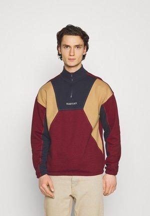 CREW ARNOLD UNISEX - Sweatshirt - granate/marino