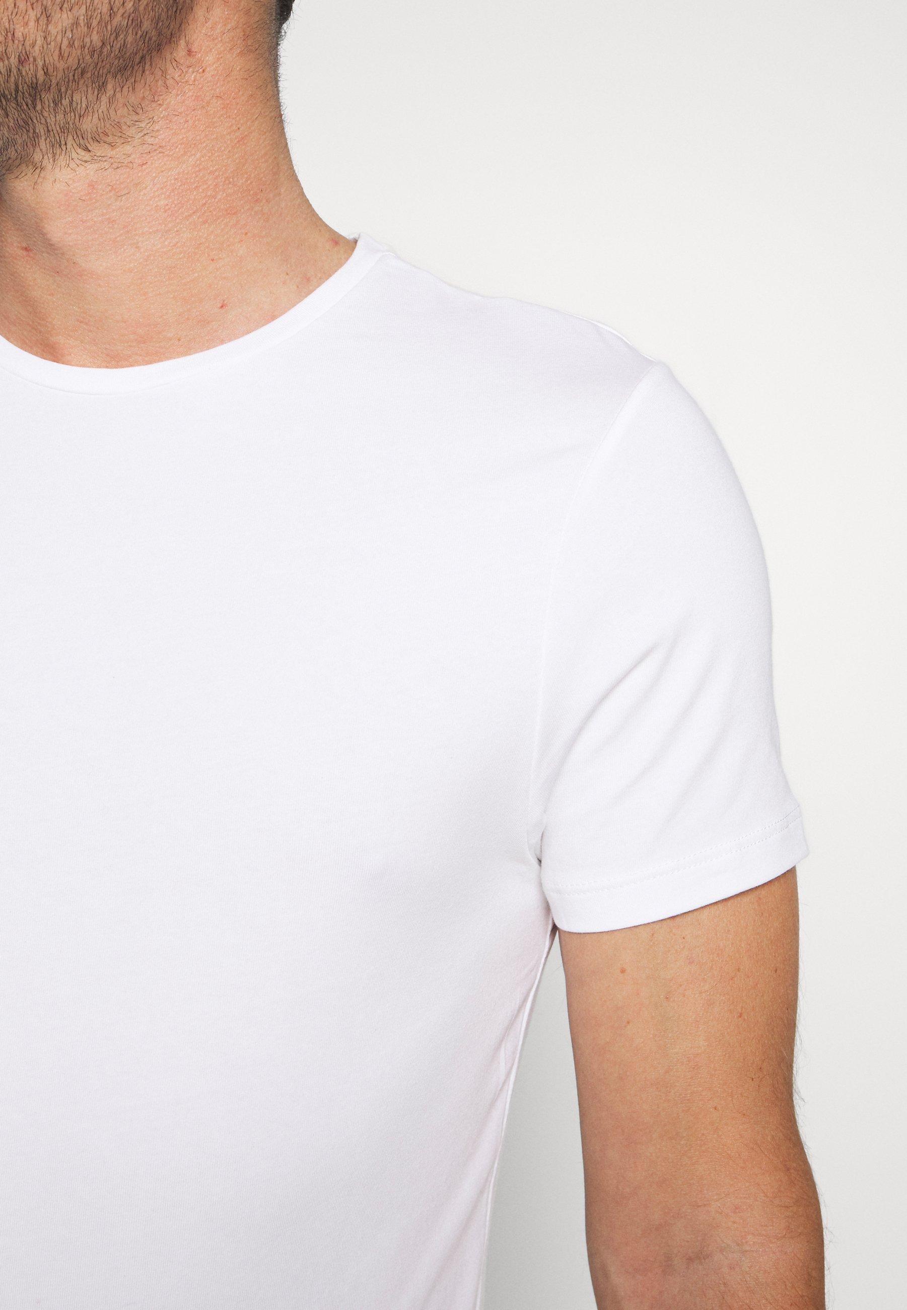 Burton Menswear London 3PACK - Basic T-shirt - burgundy sUsei