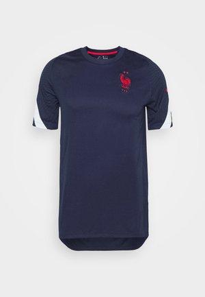 FRANKREICH FFF - Koszulka reprezentacji - blackened blue/white/university red