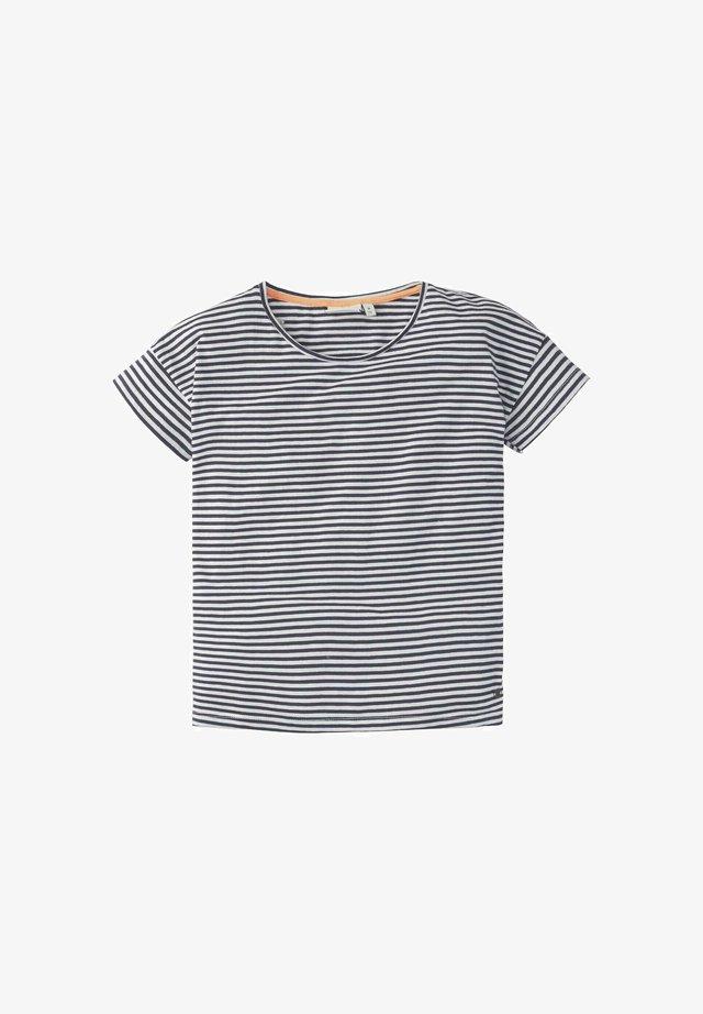 M LOOSE FIT - T-shirt print - peacoat blue