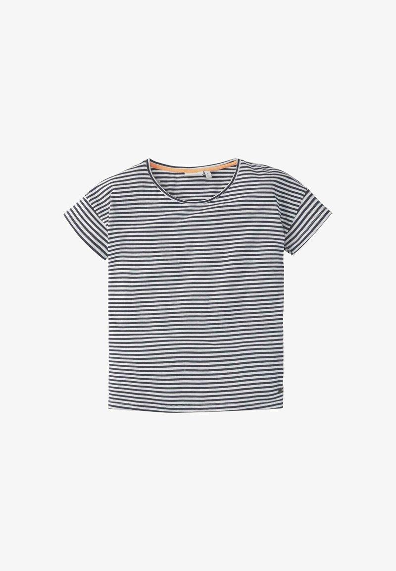 TOM TAILOR - M LOOSE FIT - T-shirt print - peacoat blue
