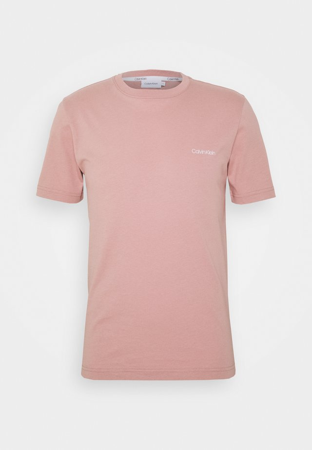CHEST LOGO - Basic T-shirt - pink