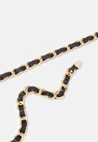 ONLY - ONLEYA CHAIN BELT - Belte - black/gold-coloured - 2