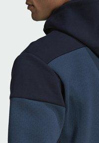adidas Performance - Z.N.E HOODIE PRIMEGREEN HOODED TRACK TOP - Zip-up hoodie - blue - 4