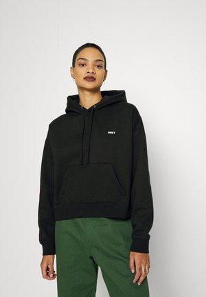 BOLD HOOD - Sweatshirt - black