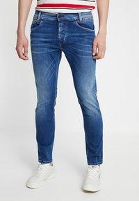 Pepe Jeans - SPIKE - Straight leg jeans - medium used powerflex - 0