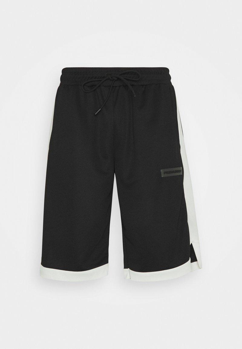 Pegador - BASKETBALL SHORTS - Kraťasy - black