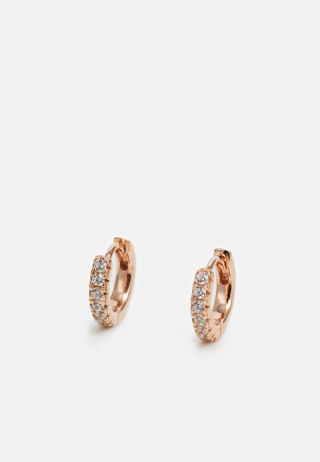 ELLERA PICCOLO EARRINGS - Ohrringe - rosegold-coloured