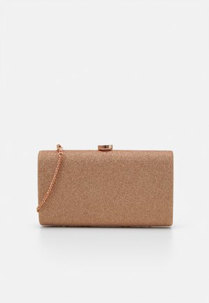 CONNIE CIRCLE CLASP - Clutch - rose gold-coloured