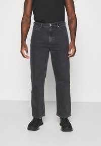 Weekday - GALAXY TROUSERS - Jeans baggy - washed black - 0