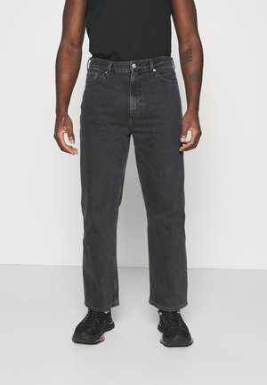 GALAXY TROUSERS - Relaxed fit jeans - washed black