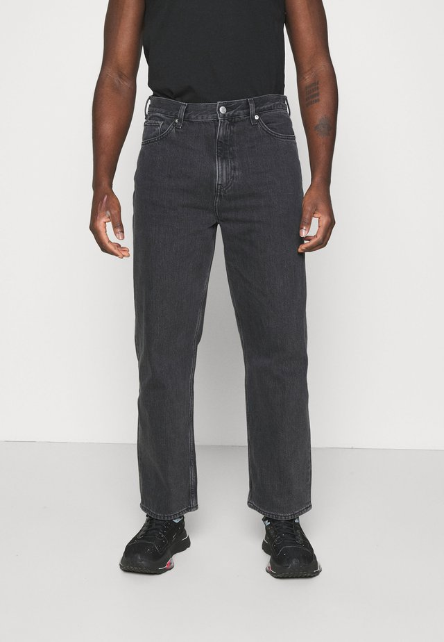 GALAXY TROUSERS - Jeans baggy - washed black