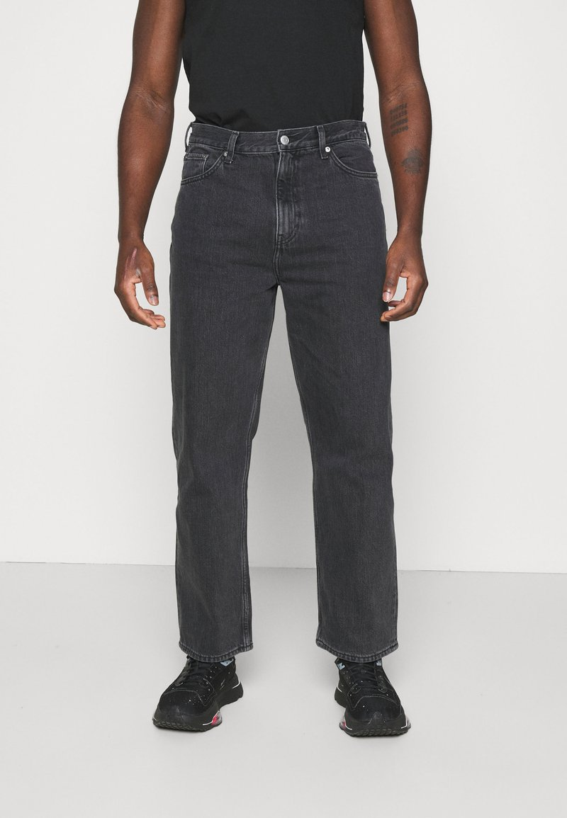 Weekday - GALAXY TROUSERS - Jeans baggy - washed black