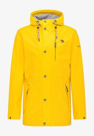 Regnjakke / vandafvisende jakker - gelb