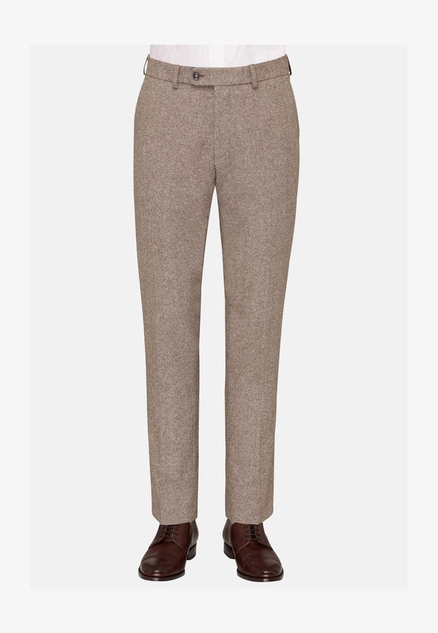CG SHIVER - Suit trousers - hellbraun