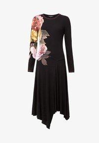Desigual - VEST_ROSE - Day dress - black - 5