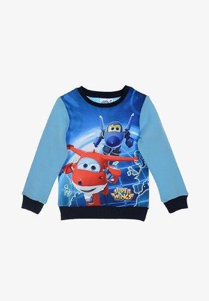 Sweatshirt - hell-blau