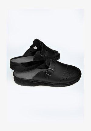 Clogs - coal black