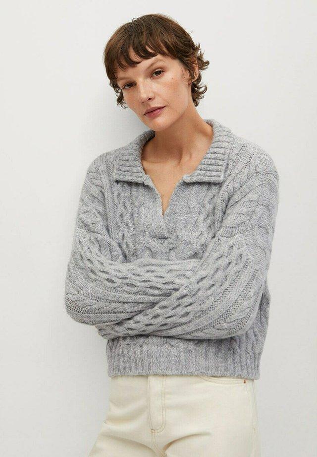 HEIDI - Sweter - grå