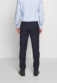 Tommy Hilfiger Tailored - WINDOWPANE SLIM FIT SUIT - Oblek - blue - 5