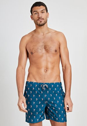 PALM - Swimming shorts - blue pond