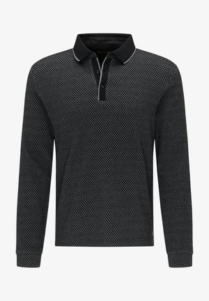 RAUTENMUSTER - Polo shirt - schwarz