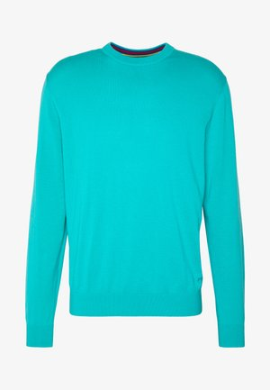 MENS CREW NECK - Polo shirt - turquoise