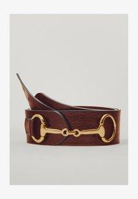 Massimo Dutti - MIT DOPPELTER TRENSE - Waist belt - brown - 0