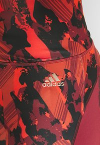 adidas Performance - Leggings - bordeaux - 5