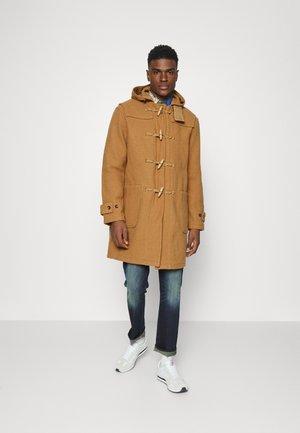 TOGGLE UNLINED COAT - Classic coat - camel