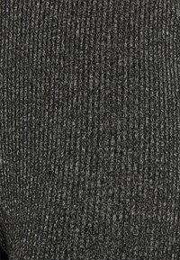 Vero Moda - VMKAMMA FLARED ABBY PANT - Trousers - dark grey melange - 5