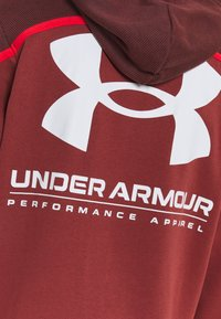 Under Armour - RIVAL - Hættetrøjer - cinna red - 3