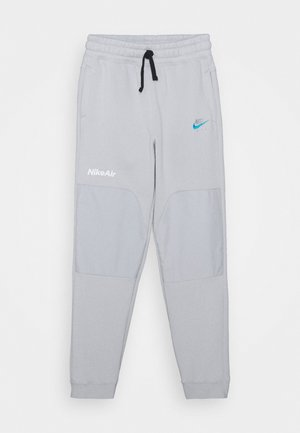 AIR - Tracksuit bottoms - grey fog/laser blue