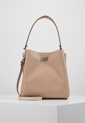 SIGNATURE BLOCKING CHARLIE BUCKET - Handbag - sand/taupe
